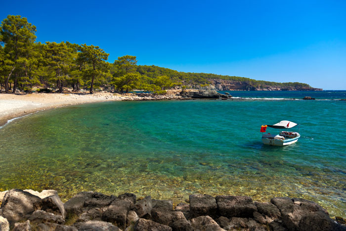 Die Top-10 Strände Antalyas und Umgebung