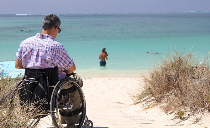 Antalya mit Rollstuhl